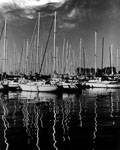 Morning Reflections, Humber Bay Marina, Toronto, 2005. Edition Size 10. Image Size 16x20. Framed Size 25x29.